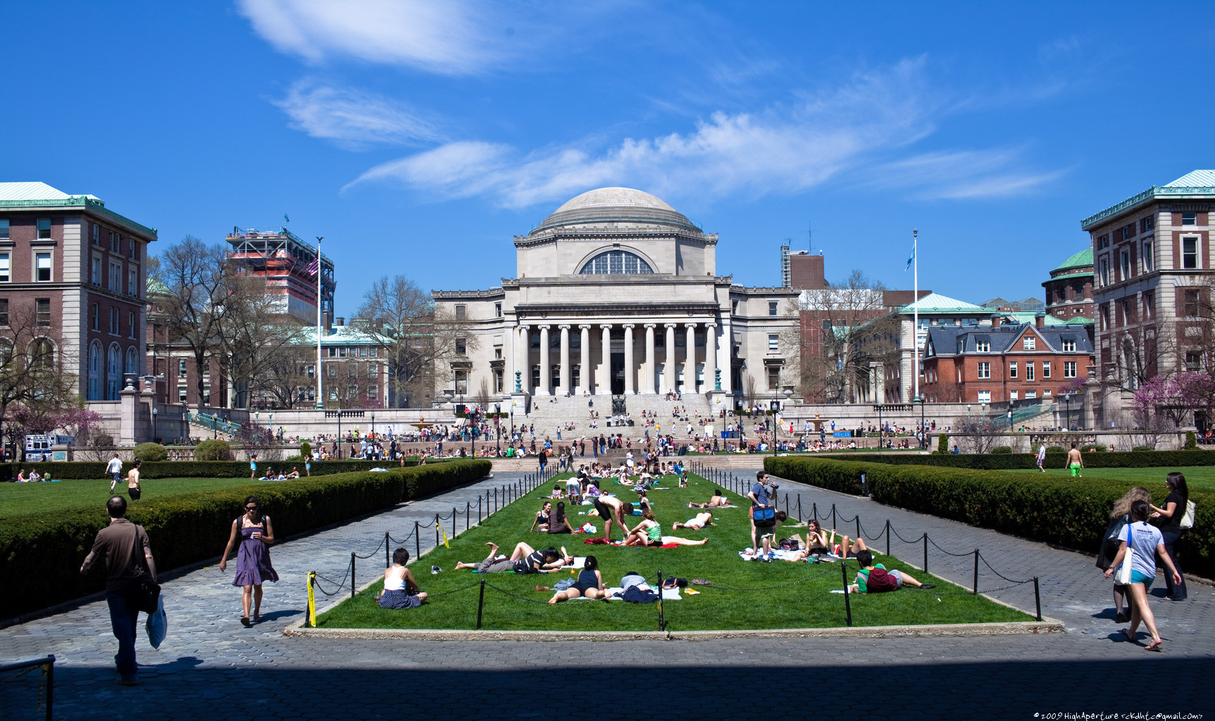 Distance education learning centre at the columbia university in the