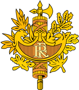 France coat of arms , armoiries de la France